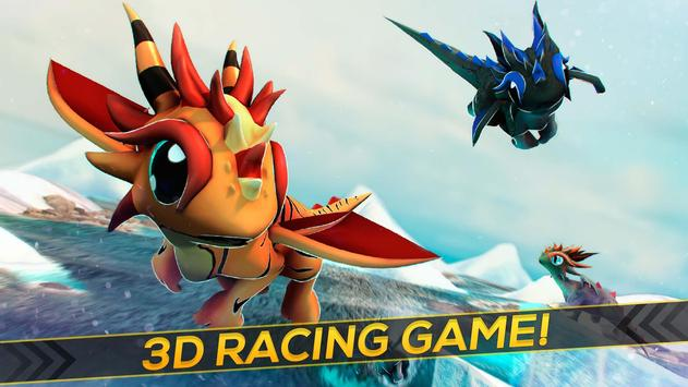 Flying Baby Dragons 3D apk screenshot