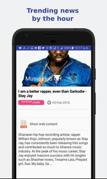 Music Hub Gh. screenshot 3