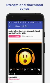 Music Hub Gh. screenshot 1