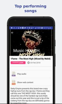 Music Hub Gh. screenshot 2
