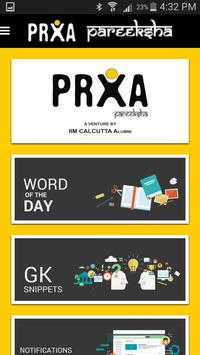 PRXA - Daily GK and Vocabulary poster