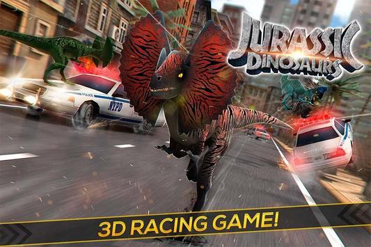 Real Jurassic Dinosaurs poster