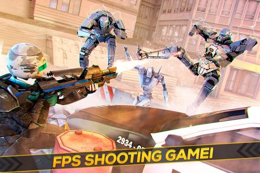 Robots Strike FPS Shooting poster