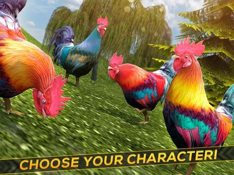 Rooster Chicks - Chicken Farm apk screenshot