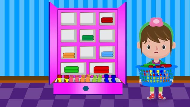Washing and Ironing Clothes: Kids Laundry Game screenshot 13