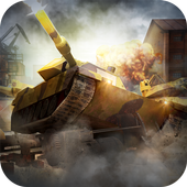 Trump War Tank Game icon
