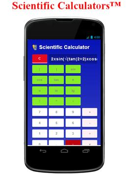 Scientific Calculators™ poster