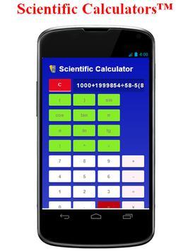 Scientific Calculators™ apk screenshot