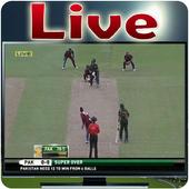 Pak Vs WI Live Cricket TV HD icon