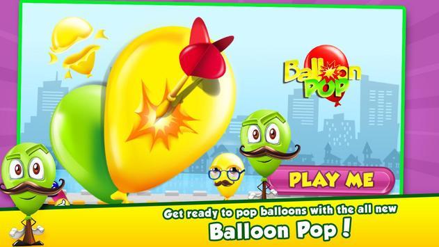 Balloon Pop - Kids Shooter poster