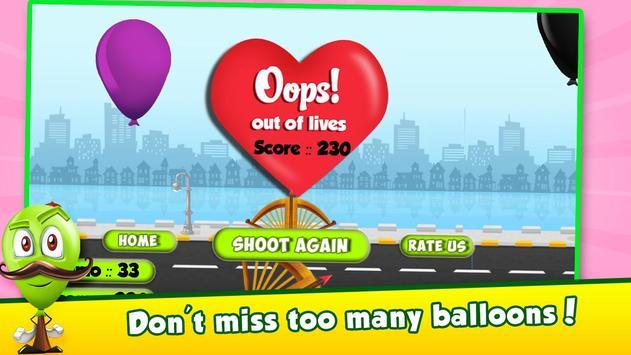 Balloon Pop - Kids Shooter screenshot 14