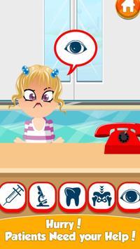 DIY - Kids Doctor - ER Emergency Hospital screenshot 1