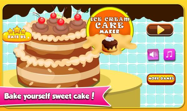 Ice cream cake maker apk download free casual game for android ice cream cake maker poster solutioingenieria Images