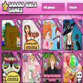 sarahs girls games icon