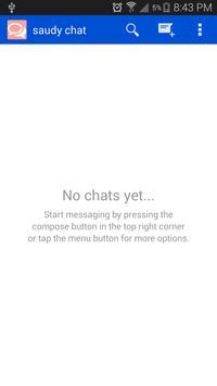 saudy chat screenshot 1