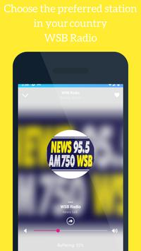 WSB Radio App 95.5 FM Station Georgia screenshot 3