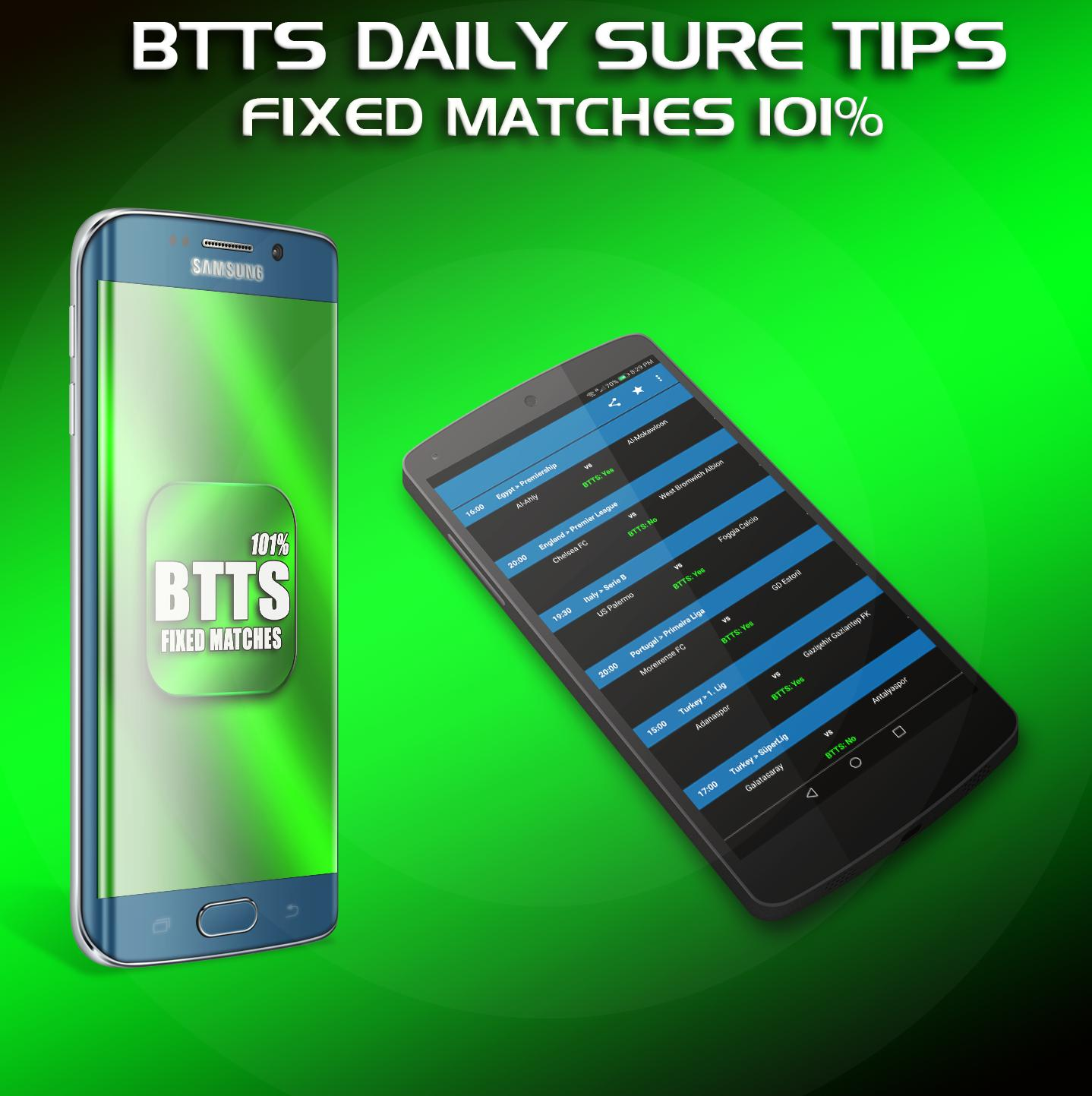 BTTS Both Teams To Score Fixed Expert Betting Tips for