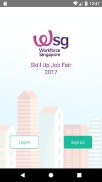 WSG Job Fair poster