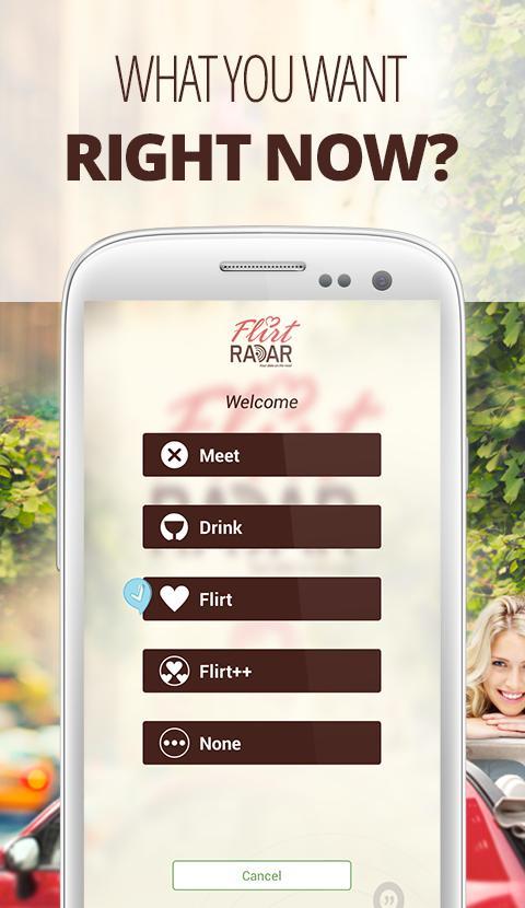 Flirt app radar  😝 Best Radar Detector Application For Android