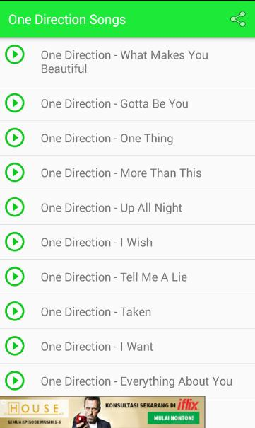 One Direction Songs Lyrics for Android - APK Download