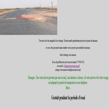 Senegal Covoiturage screenshot 1