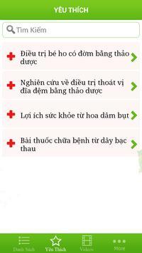 Thuoc Nam Y screenshot 6