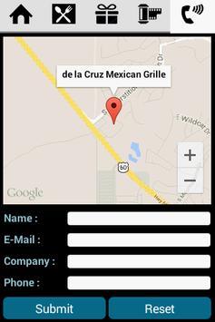 The DeLa Cruz Mexican apk screenshot