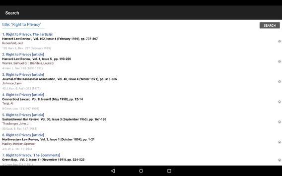 HeinOnline apk screenshot