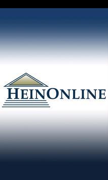 HeinOnline poster