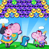 Hippo's Familly Bubble icon