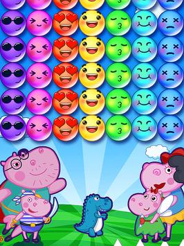 Hippo's Familly Bubble screenshot 2
