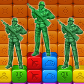 toy puzzle crush:army men icon