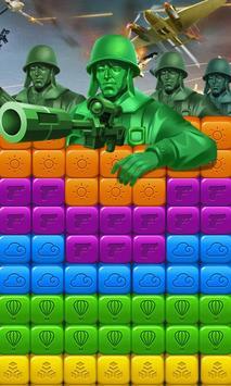 toy puzzle crush:army men screenshot 5