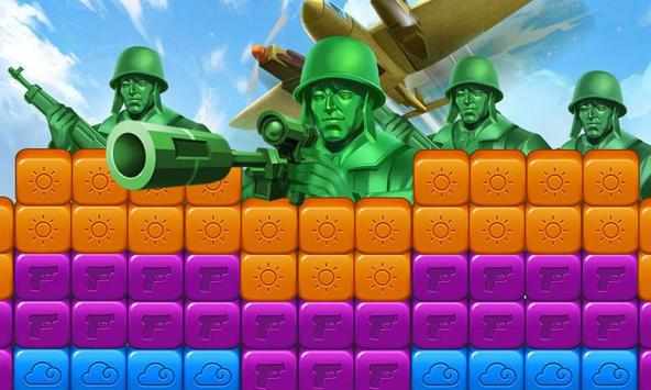 toy puzzle crush:army men screenshot 6