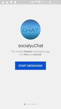 socialYuChat poster