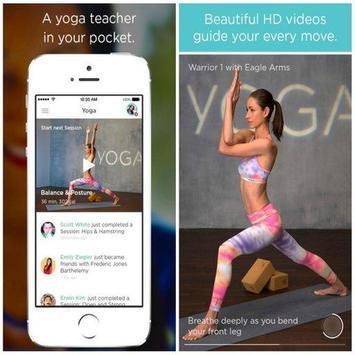 ssbms yoga poses apk screenshot