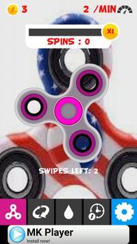 Spinner screen poster