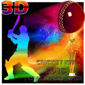 Cricket Cup 3D Livewallpaper icon
