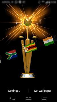 Cricket Cup 3D Livewallpaper poster