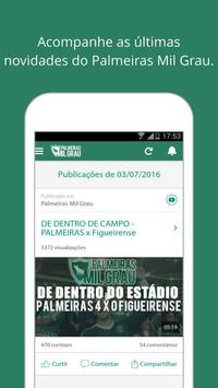 Palmeiras Mil Grau poster