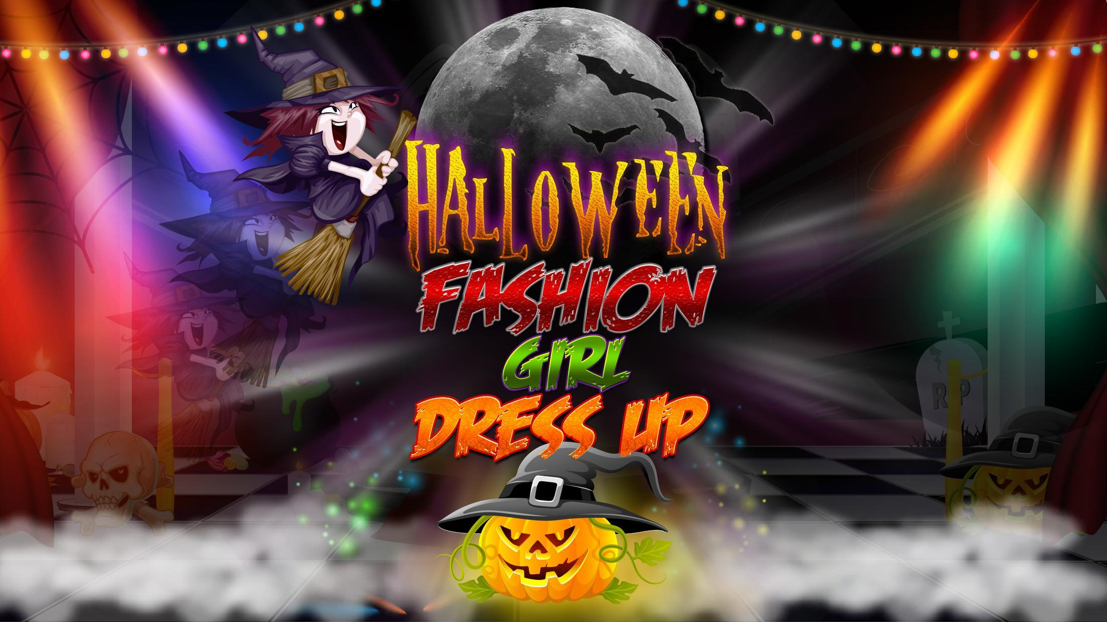 Halloween Fashion Girl Dress Up Halloween Games For Android Apk Download