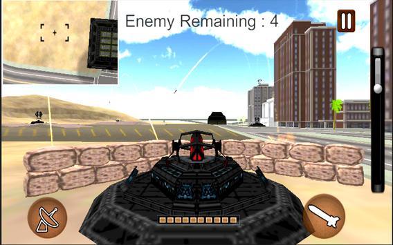 Missile Simulation Drone Attack apk screenshot