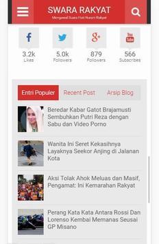 Swara Rakyat screenshot 2