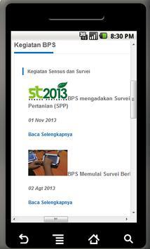 Statistik Jombang apk screenshot