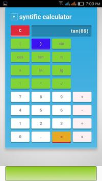 syntific calculator poster
