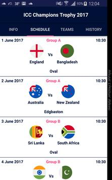 ICC Champions Trophy 2017 poster