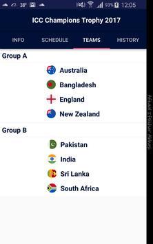 ICC Champions Trophy 2017 apk screenshot