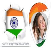 Indian Flag Photo Frame 2017 icon