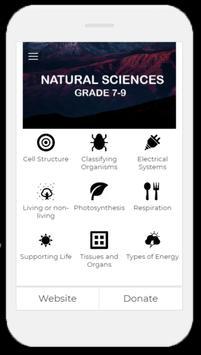 Natural Sciences poster