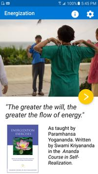 Energization poster